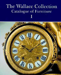 Wallace Collection: Catalogue of Furniture (3 vols.) Peter Hughes, 1996 Project managed by John Adamson Click on book for more information.